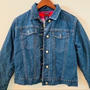 GAP Kids Button Front Denim Jean Jacket